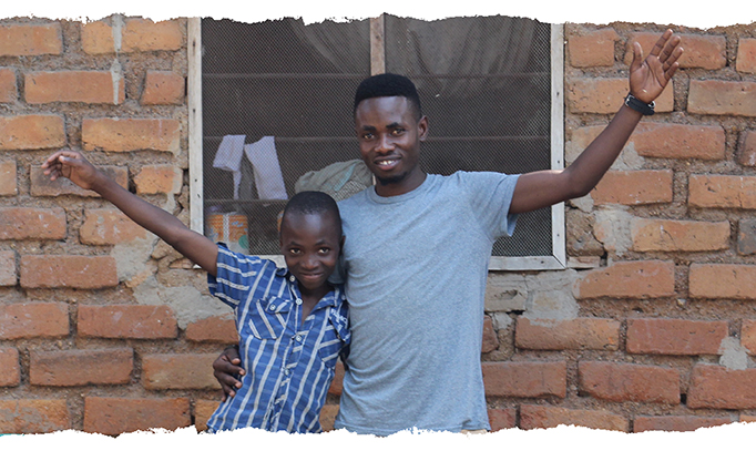 From street child to family champion