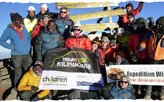 Mt Kilimanjaro trek raises £80K for street children