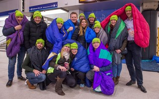 #BigStationSleepout raises over £135,000!