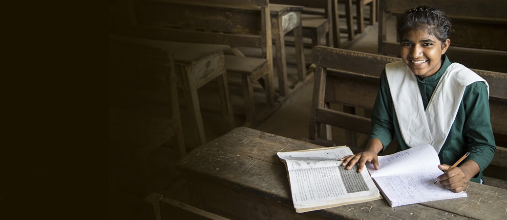 Education is vital to a girl's survival