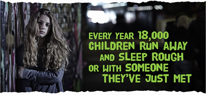 18000 Children Run Away And Sleep Rough